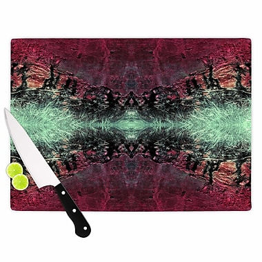East Urban Home Pia Schneider Glass 'Abstract Desert II Painting' Cutting Board