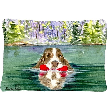 East Urban Home Springer Spaniel Indoor/Outdoor Throw Pillow