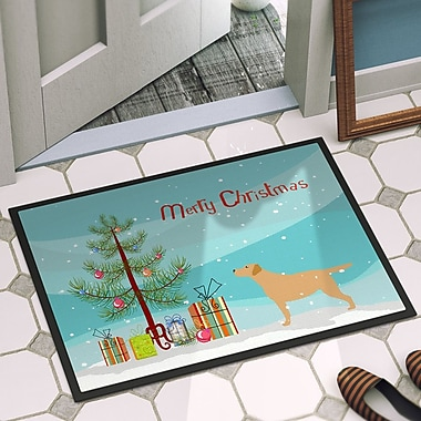 The Holiday Aisle Labrador Retriever Door Mat; 2' x 3'