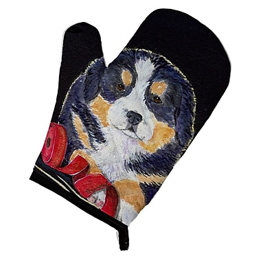 East Urban Home Dog Black Oven Mitt