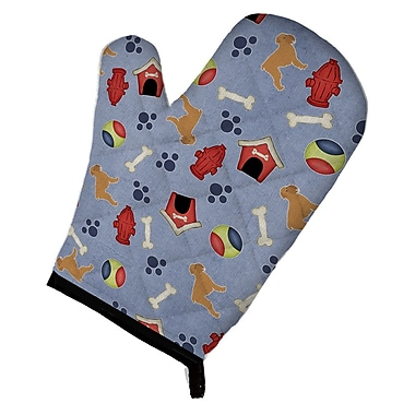 East Urban Home Brussels Griffon Dog House Oven Mitt