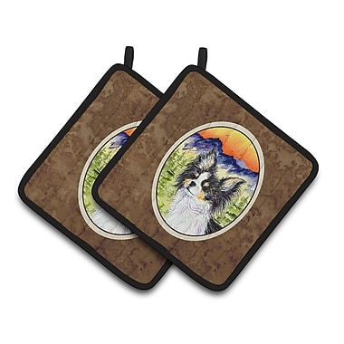 East Urban Home Chihuahua Potholder w/ Hanging Tab (Set of 2)