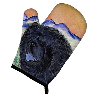 East Urban Home Black Chow Chow Oven Mitt