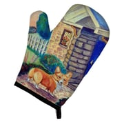 East Urban Home Corgi Cottage Oven Mitt