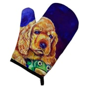 East Urban Home Cocker Spaniel w/ Frog Oven Mitt