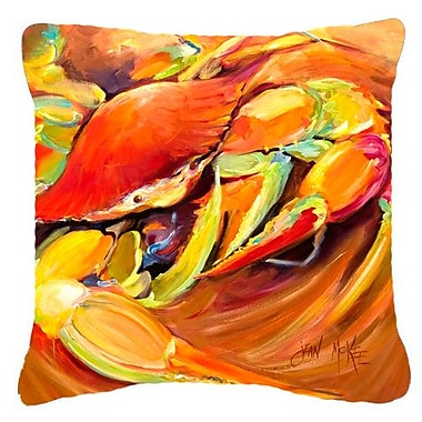 East Urban Home Crab Spice Indoor/Outdoor Throw Pillow; 18'' H x 18'' W x 5.5'' D