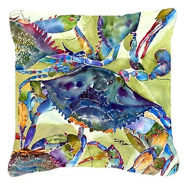 East Urban Home Crab Rectangular Indoor/Outdoor Throw Pillow; 18'' H x 18'' W x 5.5'' D