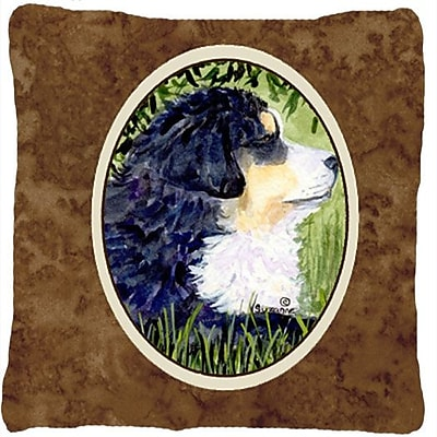 East Urban Home Dog Square Indoor/Outdoor Throw Pillow