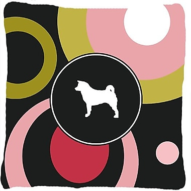 East Urban Home Akita Polka Dots Indoor/Outdoor Throw Pillow