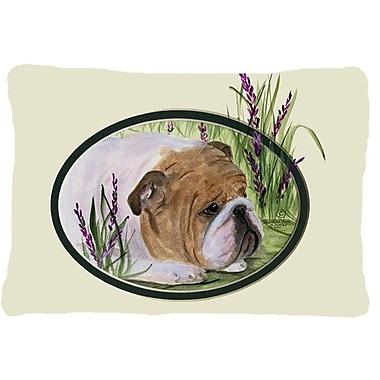 East Urban Home English Bulldog Indoor/Outdoor Rectangular Throw Pillow