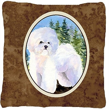 East Urban Home Bichon Frise Indoor/Outdoor Graphic Print Throw Pillow