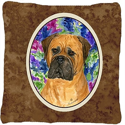 East Urban Home Bullmastiff Indoor/Outdoor Throw Pillow