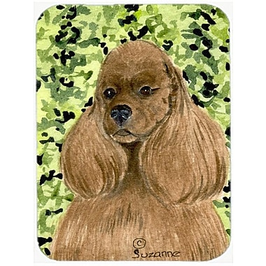 East Urban Home Cocker Spaniel Rectangle Tempered Glass Cutting Board