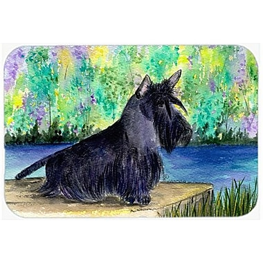East Urban Home Scottish Terrier Glass Cutting Board