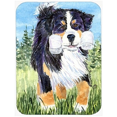 East Urban Home Dog on Grassfield Glass Cutting Board