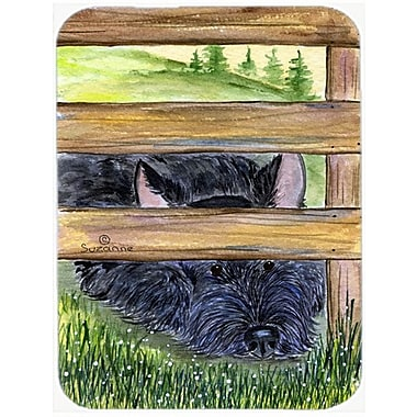 East Urban Home Scottish Terrier Rectangle Glass Cutting Board
