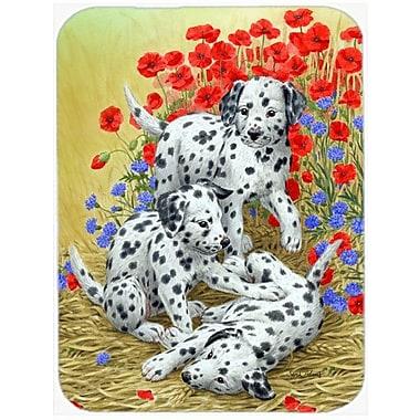 East Urban Home Dalmatian Pups Glass Cutting Board