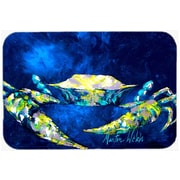 East Urban Home Tealy Crab Glass Cutting Board