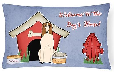 East Urban Home Dog House Modern Indoor/Outdoor Heavyweight Canvas Lumbar Pillow