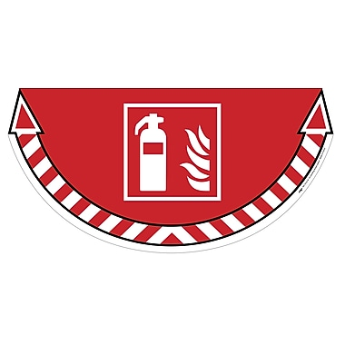 Take Care CEP7010/18 Fire Extinguisher Marker Red