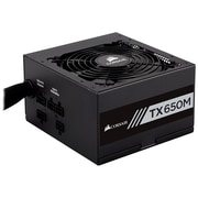 Corsair CP-9020132-NA TX650M Power Supply, 650 Watt