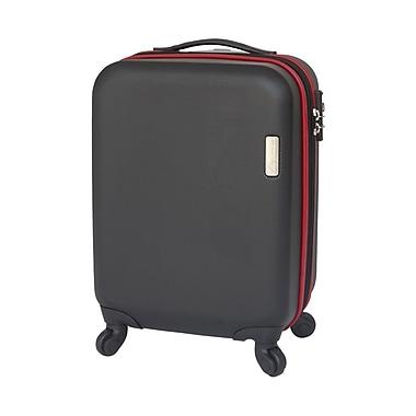 FLO – Valise de cabine rigide sur roulettes, 20 po, KY-8538, noir