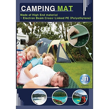 JTI Outdoor Camping Mat, Large, 140 x 200 cm