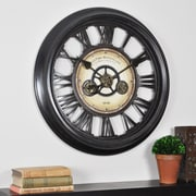 """FirsTime® 24"""" Oversized Gear Works Wall Clock"""