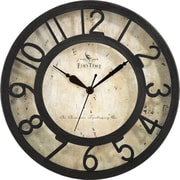 "FirsTime® 8"" Raised Number Wall Clock"
