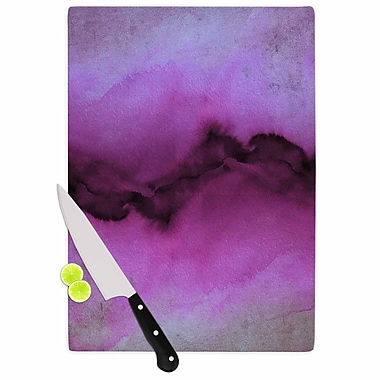 East Urban Home Ebi Emporium Glass 'the Vibe' Cutting Board; 0.25'' H x 15.75'' W x 11.5'' D