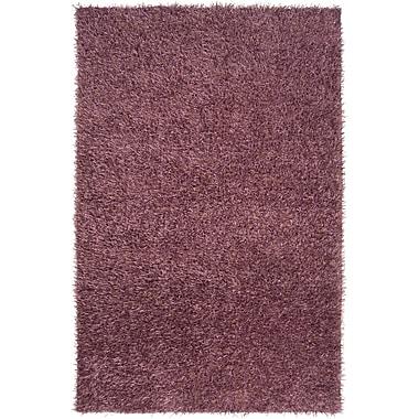 Ebern Designs Garrison Purple Rug; 5' x 8'