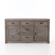 Gracie Oaks Glenna Sideboard; Black Olive
