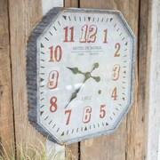 Gracie Oaks Octagon 25'' Analog Wall Clock