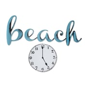 Highland Dunes 'Beach' Time Blue Radiance Wall Decal