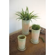 Kalalou 3-Piece Ceramic Pot Planter Set