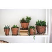 Kalalou 5 Piece Terracotta Pot Planter Set