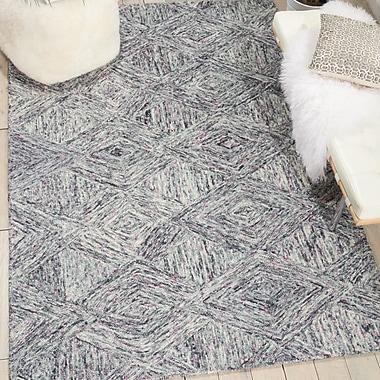 Ivy Bronx Divernon Hand-Woven Wool Heather Area Rug; Runner 2'3'' x 7'6''
