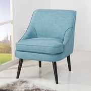 Ivy Bronx Donnellson Slipper Chair; Ocean