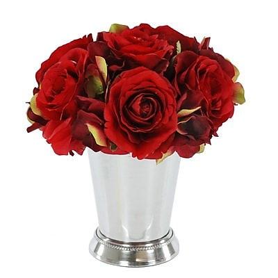 Jane Seymour Botanicals Rose Bouquet Floral Arrangement