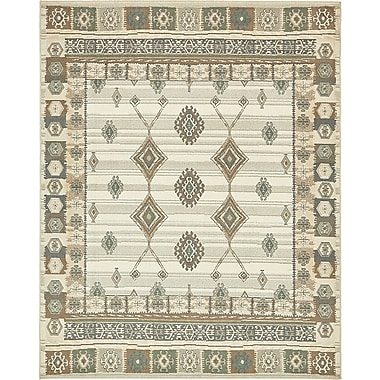 Loon Peak Giovanni Ivory Area Rug; 8' x 10'
