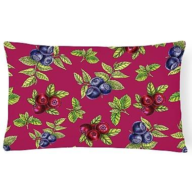Latitude Run Claravale Berries Lumbar Pillow