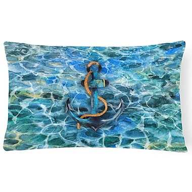 Latitude Run Finigan Anchor and Rope Lumbar Pillow
