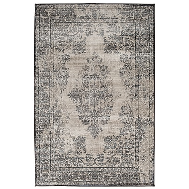 Ophelia & Co. Gaines Mist Blue/Castle Gray Area Rug; 5' x 7'6''