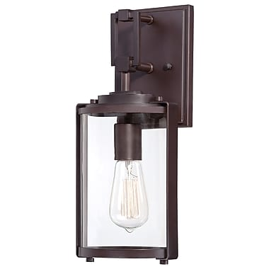 17 Stories Pingree 1-Light Outdoor Sconce; 14.75'' H x 6'' W