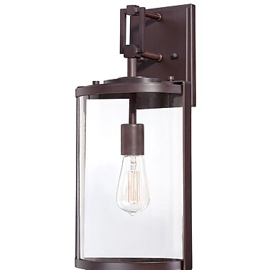 17 Stories Pingree 1-Light Outdoor Sconce; 18.25'' H x 8.5'' W