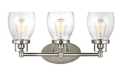 17 Stories Yesler 3-Light Vanity Light