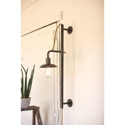 17 Stories Ashling Vertical Sliding Armed Sconce