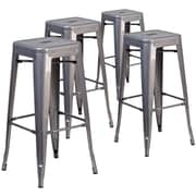 17 Stories Gualtiero 30'' Bar Stool (Set of 4)