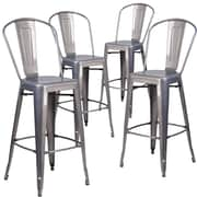17 Stories Guillelmina 30'' Bar Stools (Set of 4)