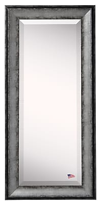 17 Stories Sterling Contemporary Charcoal Body Mirror; 64.5'' H x 26.5'' W